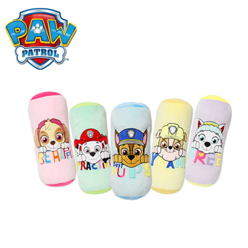 New Paw Patrol Stuffed Pillow PP cotton soft Family Plush Toy Patrulla Canina Action Anime figure Toys For Children Best Gift