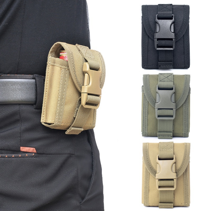 Hunting Mag Pouch Compact Waterproof EDC Pouch Outdoor Tactical Organizer Easy Carrying License MOLLE Bag Waist Pack