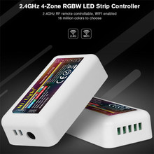 2.4G MiLight controller, RGBW receiver, multicolor group dimming and color mixing LED Strip Controller