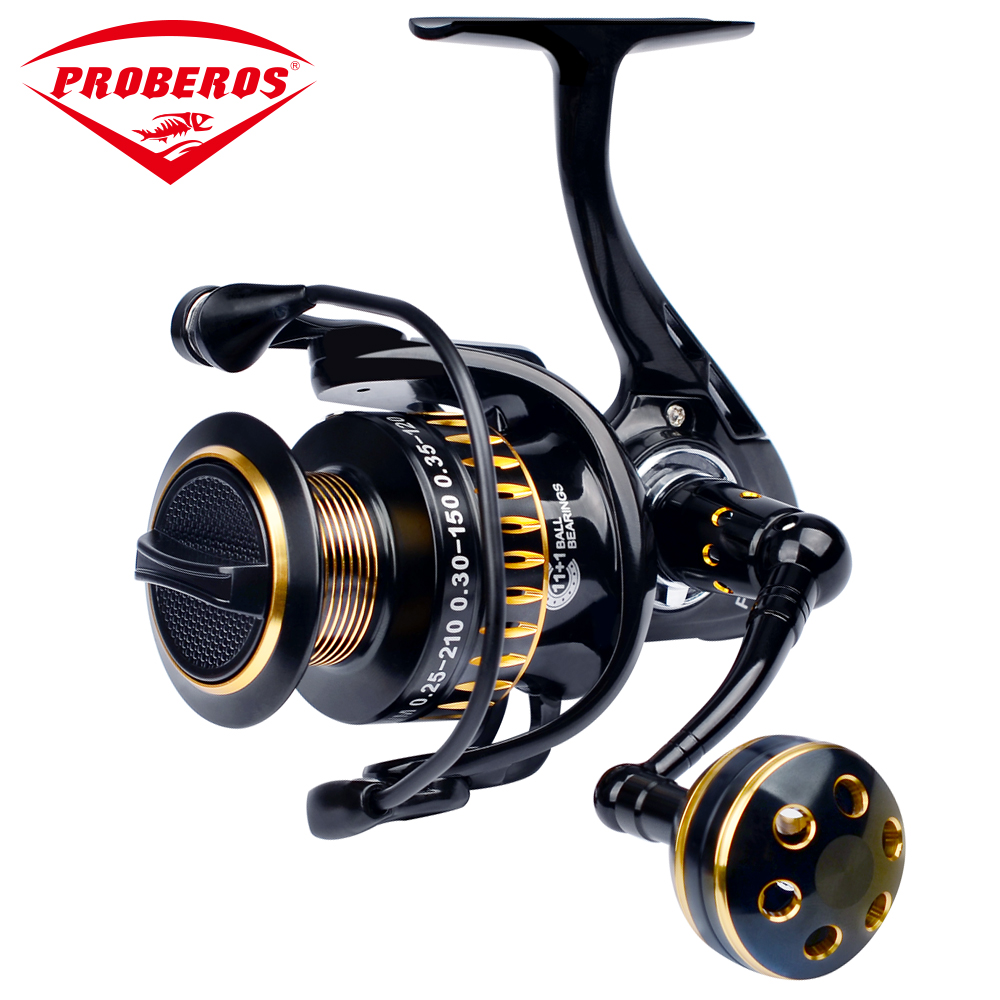 New Aluminum alloy Fishing Reel CNC Processing Spinning Reel 11 1BB Stainless Steel Bearing 25KG Max