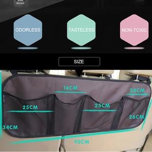 Image 3 - Araba gövde saklama çantası/koltuk asılı çanta, depolama net yüksek kapasiteli/ayakkabı, basketbol ekipmanları çanta net gövde