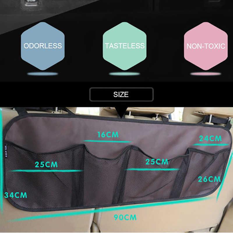 Torba do przechowywania do bagażnika/seat torba do zawieszenia, do przechowywania bagażu o dużej pojemności/buty samochodowe, koszykówka torba na sprzęt netto w bagażniku