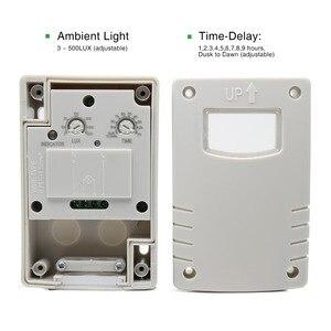 Image 5 - Interruttore fotocellula automatico per sensore di controllo della luce IP44 220VAC esterno di alta qualità per lampade a Led