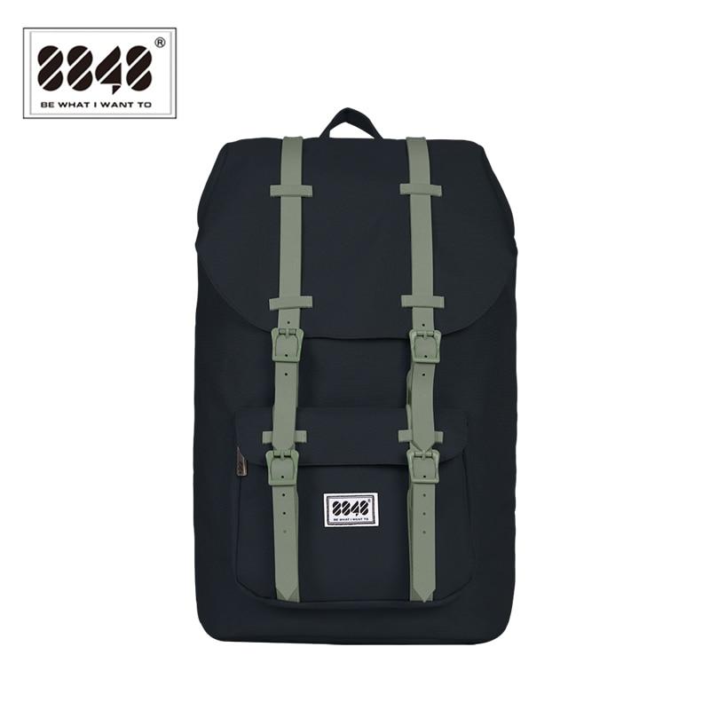 8848 Brand Travel Ерлерге арналған рюкзактар Суға төзімді рюкзактар 20.6 L Үлкен сыйымдылыққа төзімді компьютерлік интерлайнер Полиэстер 111-006-008