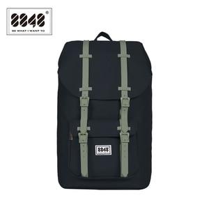 Image 1 - 8848 Brand Travel Men Backpack Waterproof Backpacks 20.6 L Large Capacity Resistant Computer Interlayer Polyester 111 006 008