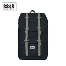 8848 marca de viagem masculino mochila mochilas impermeáveis 20.6 l grande capacidade resistente computador interlayer poliéster 111 006 008