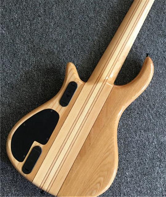 6 - string bass guitar, neck through the body 4