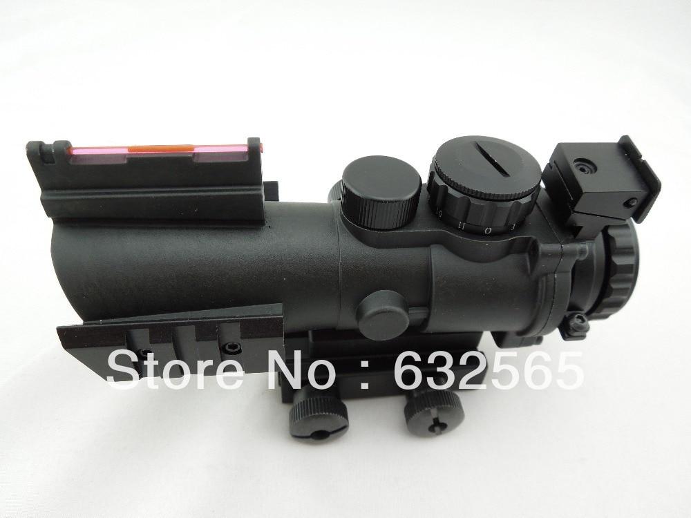 Тактичний 4х32 подвійний освітлений - Полювання - фото 2