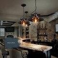 Ferro Luz Pingente de Loft Industrial Restaurar Antigo Restaurante Café Bar à prova de Explosão-Lâmpadas de Ferro Forjado