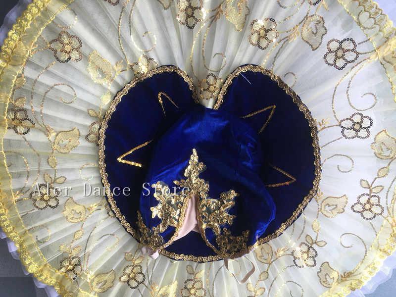 Giselle Tutu Professionale di Paillettes Adulto Lago Dei Cigni Balletto Costume di Ballo Per Le Ragazze Le Donne Pancake Tutu Kid Pattinaggio Vestito Da Ballerina