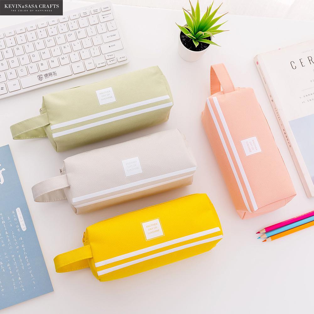 New Super Big Pencil Case Fabric Quality Cute School Supplies Bts Stationery Gift School Cute Pencil Box Pencilcase Pencil Bag Пенал