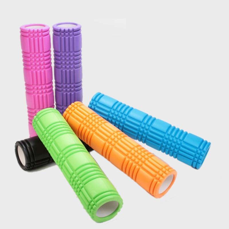 Fournitures de Fitness bâton de yoga EVA colonne de yoga creuse 14*60 cm bâton de yoga colonne de massage musculaire rouleau de mousse