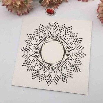 40pcs/lot Luxury Ivory White Sunflower Wedding Invitation Card  Birthday Party Dinner Invite Wedding Decorations Greeting Card