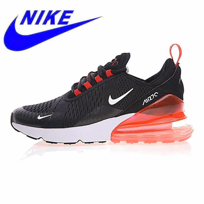 watch 63efa 49c63 Breathable Nike Air Max 270 Men s Running Shoes, Black   Red, Shock  Absorption Non
