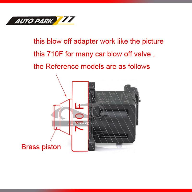 Prix pour Blow off valve adaptateur pour vw mk5 6 ea113 ea888 moteur 710d dv blow off valve