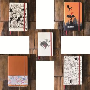 Image 2 - A5 Size Journals And PU Leather Dot Grid Notebook 5*5mm Dotted bujo