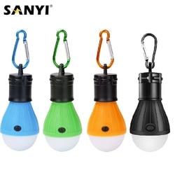 3 LEDs Zelt Hängen Lampe 3 Modi Led-lampe Karabiner Lampe Licht Tragbare Laterne Außen SOS Camping Lampe Notfall Beleuchtung AAA