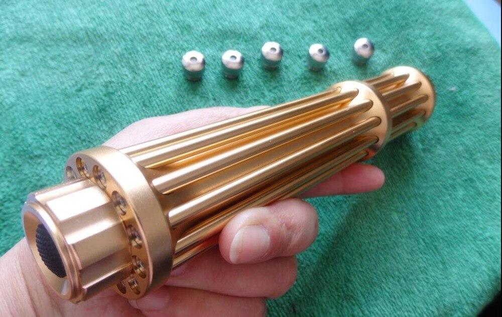 Militaire de Haute puissance 450nm 100000 m 100 w Bleu laser pointeur Lazer stylo brûler l'allumette soudure w/étoilé caps canon laser Chasse