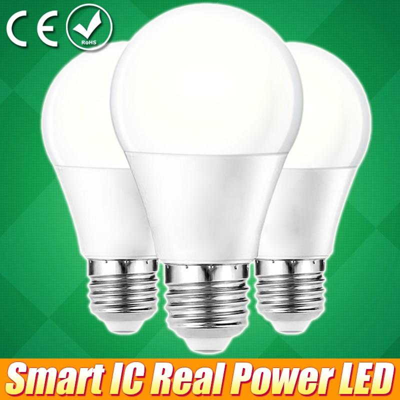 LED Lamp Light E27 LED Lampada Ampoule Bombillas 3W 5W 7W 9W 12W 15W E27 LED Bulb 220V 240V Cold/Warm White SMD2835 LED Lights