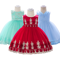 Baby Dress Tutu Newborn Girl Dress Birthday Gown 1 years Birthday Party Baby flower Clothing Tulle Toddler Girl Clothes
