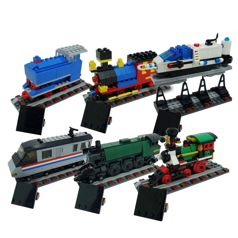 L Models Building toy L21029 1176Pcs Trains Blocks Toys Hobbies For Boys Girls Model Building Kits free delivery factory price children s educational three small trains toys wooden blocks trains kids models building toy