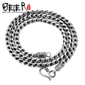 Gurantee 925 Sterling Silver Necklace For women 2016 Fashion High Quality Thailand Silver Necklace Chain  BR925XL049