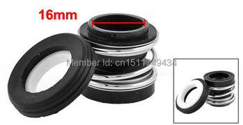 MB2-16 16mm Inner Diameter Single Coil Spring Bellows Mechanical Seal 5pcs image