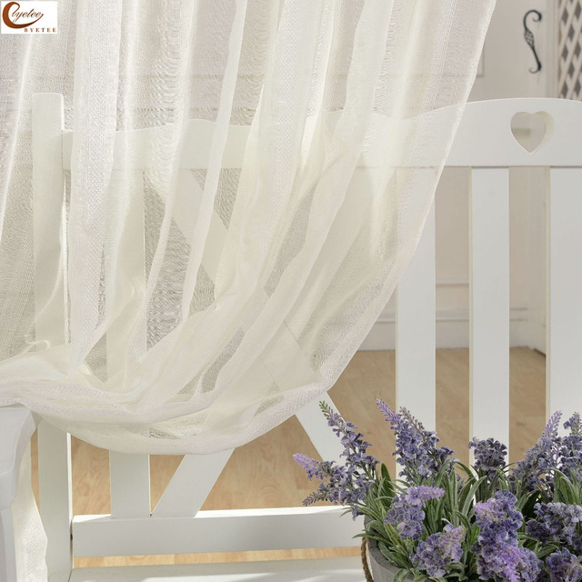 byetee] Modern simple jacquard window screen fabric floating ...