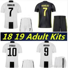 C Ronaldo 7 hosts Juventus Jersey Adult Ronaldo Magglia in 2019, Dibala Iguain Adult Juventus Soccer Shirt(China)