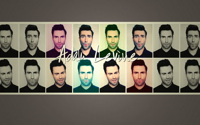 065 Adam Levine - American Singer Maroon 5 Band 22x14 Poster
