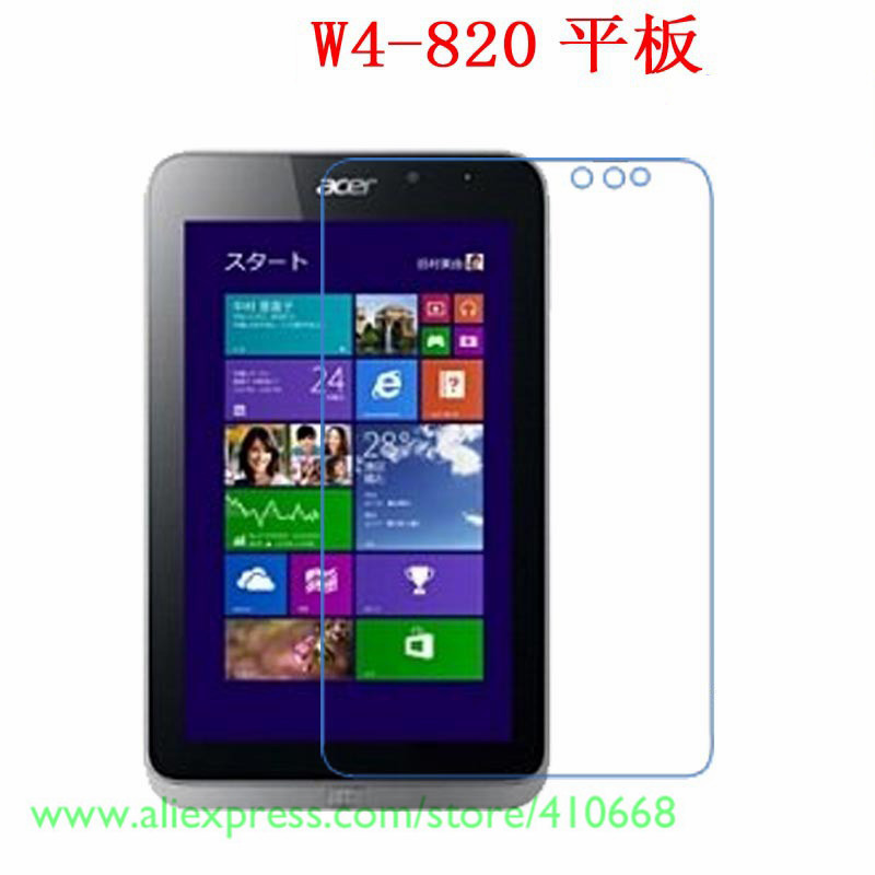 Latest Collection Of New Lcd Clear Screen Protector Films Film Guards free/drop Shipping stylus Touch Pen For Acer Iconia W4 820 W4-820 8 Tablet