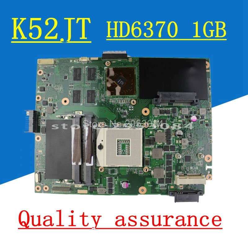 Hot selling K52JT HD6370 1GB Mainboard For ASUS K52J A52J X52J K52JK K52JU K52JB K52JT K52JR K52JE Laptop motherboard hot selling k52jt hd6370 1gb mainboard for asus k52j a52j x52j k52jk k52ju k52jb k52jt k52jr k52je laptop motherboard