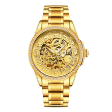 купить watch men Automatic LUXURY TOP AUTOMATIC  Fashion Top Brand Sports Watches Tourbillon Moon Phase Stainless Steel Watch Relogio по цене 2451.54 рублей