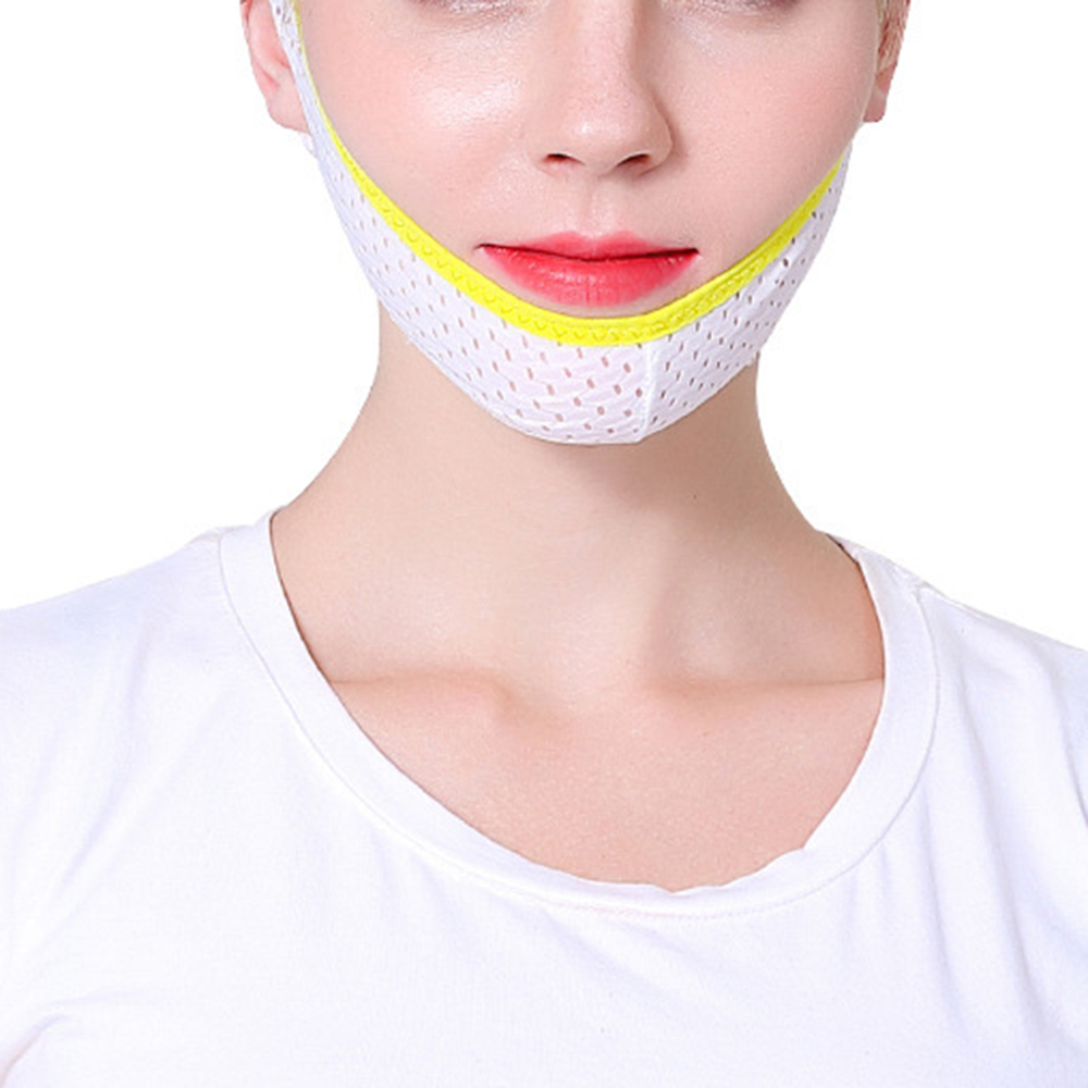 1pc Small Face V Shaped Belt Face Lifting Thin Mask Beauty Care Tools Anti-aging Anti-wrinkle Thin Face Artifact Sleep Bandage(China)