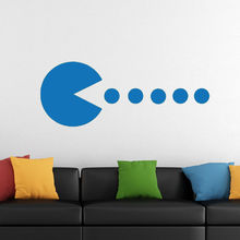 Melissalove Pacman Wall Sticker Wall Decals For Bedroom & Buy pacman wall decal and get free shipping on AliExpress.com