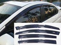Mugen Style Window Sun Visor Wind Deflector Guard for Nissan Sentra 2013 2015
