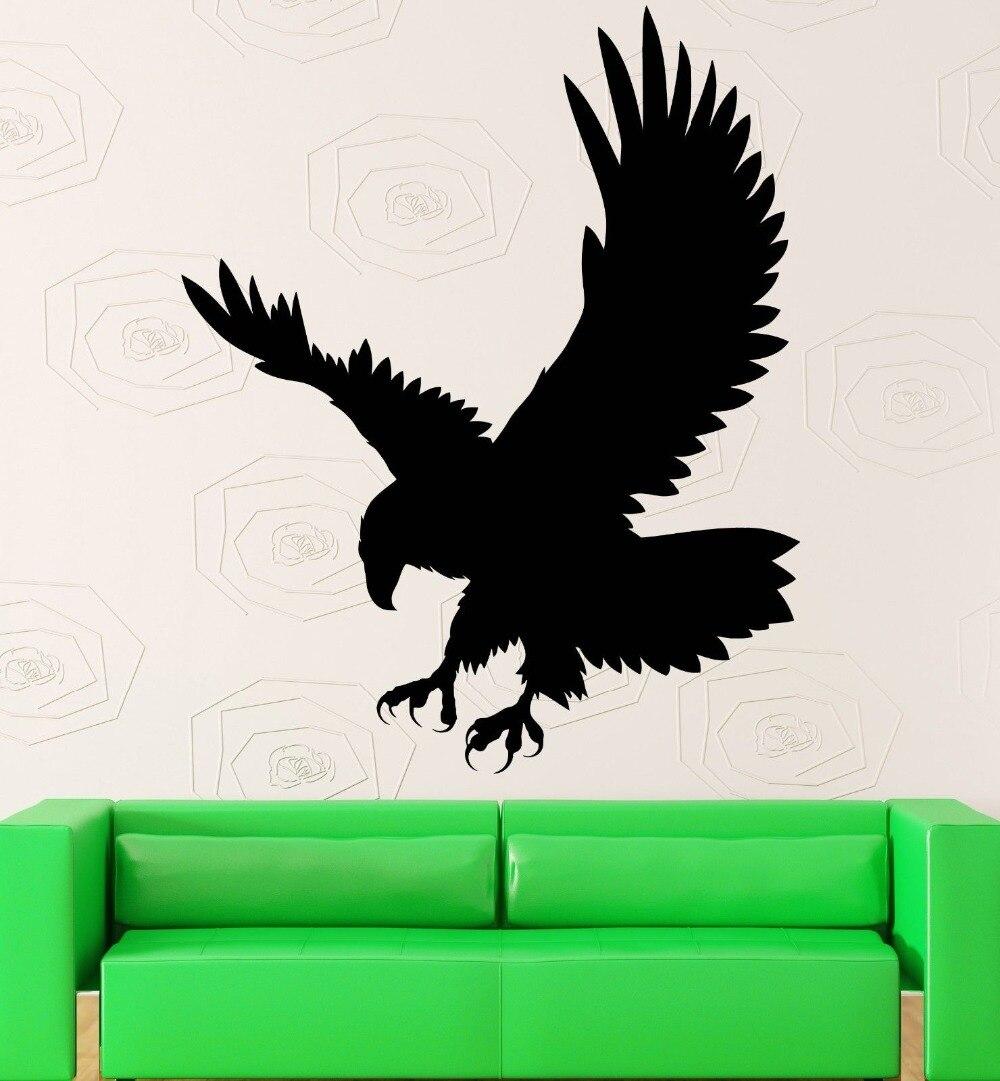 Wall Sticker Vinyl Decal Eagle Bird Predator Aggressive Symbol Decor