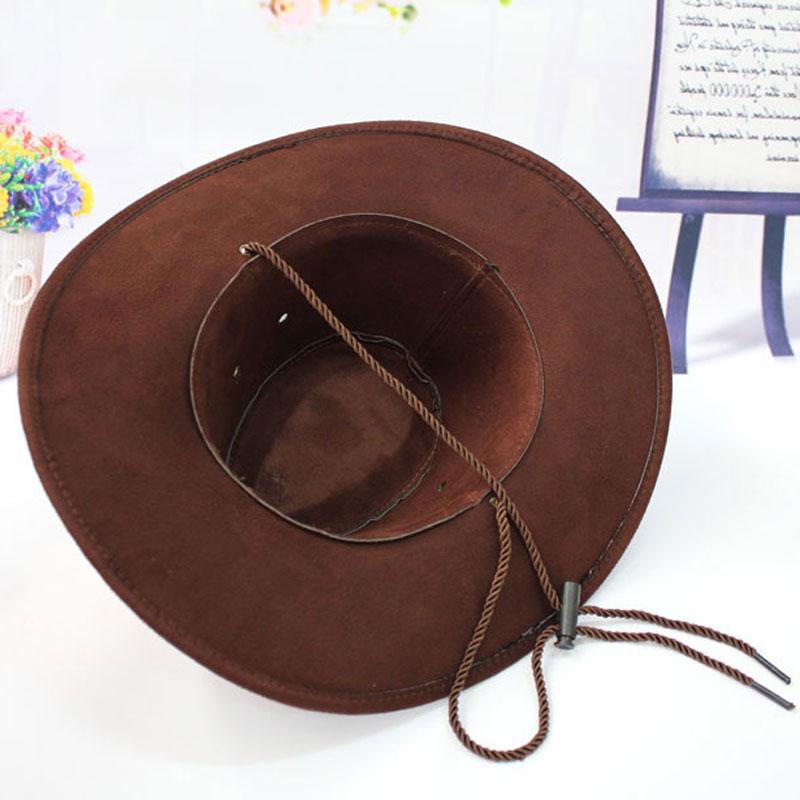 11.11 Topi Topi Koboi untuk Wanita dengan Bidang Sombreros Mujer - Aksesori pakaian - Foto 5