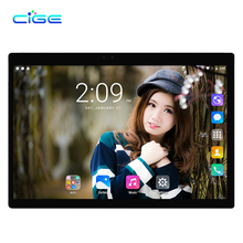 DHL Free Shipping New CIGE Android 6.0 10.1 inch Tablet pc Octa Core 4GB RAM 64GB ROM 8 Cores 1280*800 IPS Kids Gift MID Tablets