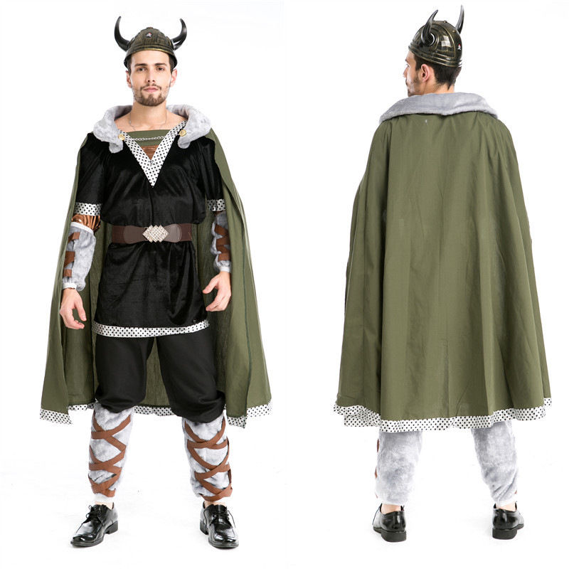 Halloween Costumes Adult Mens Bull Demon cosplay The Hobbit Full Sets Costume Uniform Fancy Cosplay Clothing for Men