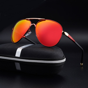 Image 4 - SAYLAYO HD Polarized Sunglasses Men Vintage New Male Cool Driving Sun Glasses Eyewear UV400 Protection Shades for Women