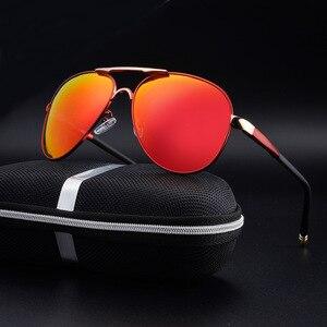 Image 4 - SAYLAYO HD spolaryzowane okulary mężczyźni w stylu Vintage nowy mężczyzna fajne okulary jazdy okulary odcienie UV400 dla kobiet