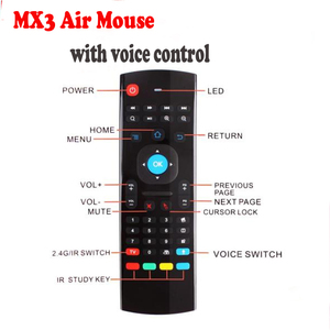 MX3 Air Mouse with Microphone