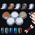 Elite99 Pigmento Glitter Glitter Polvo de Uñas de Arte esmalte de Uñas Camaleón Espejo Magia Polvo Shimmer Polvo para Esmalte de Uñas