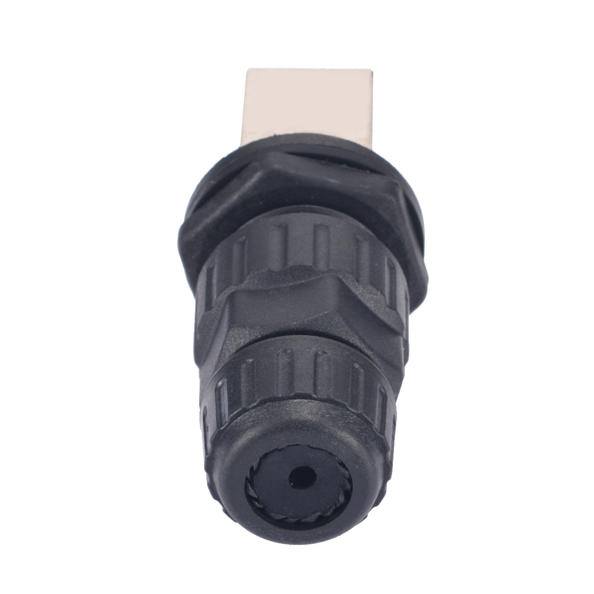 1x RJ45 Interface Connector IP68 Network Outdoor AP Waterproof Connector Adapter Durable 10mm Hole 8 Core
