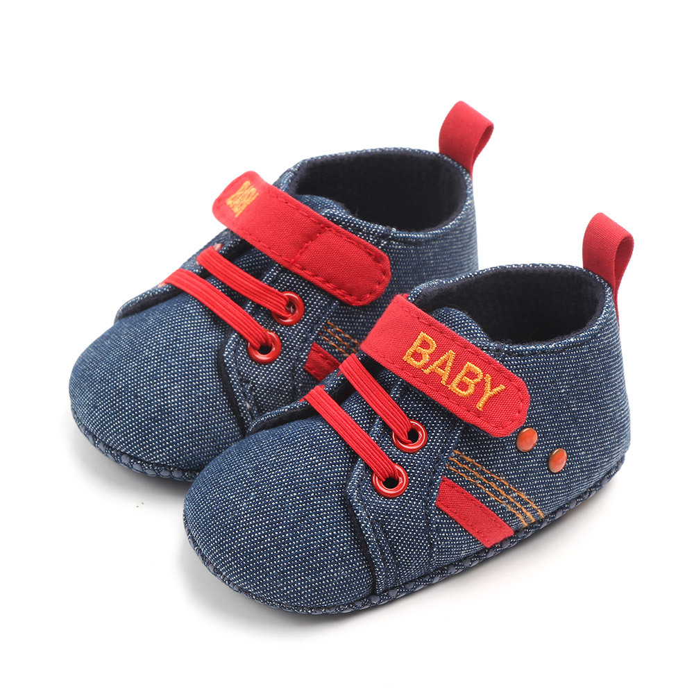 2019 Fashion New Baby Boys Casual Shoes Soft Sole Infant Toddler First Walkers Indoor Crib Shoe