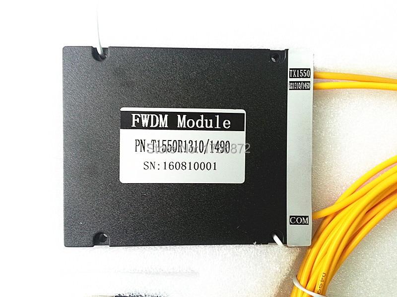 3 Limanlar EPON 3mm 1 M ABS Kutusu FC / PC T1550 R1310 / 1490 FWDM - İletişim Ekipmanları - Fotoğraf 4