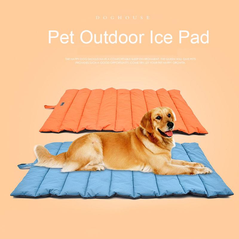 SMARTPET Pet Dog Cooling Mat Summer Pet Ice Pad Cat Cold Bed Multi functional Cooler Mats for Hot Summer Cooling Mattress