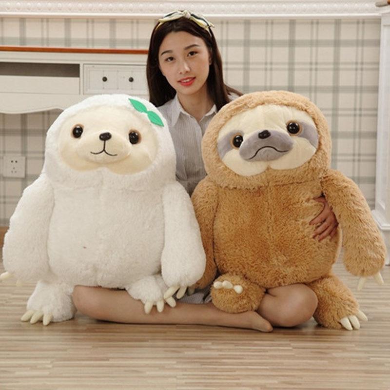 Hot 40cm/50cm Crazy Animal City Cute Sloth Plush Toy Anime Movie Sloth Stuffed Animals Cute Doll Kawaii Toys For Girl Gifts MR24