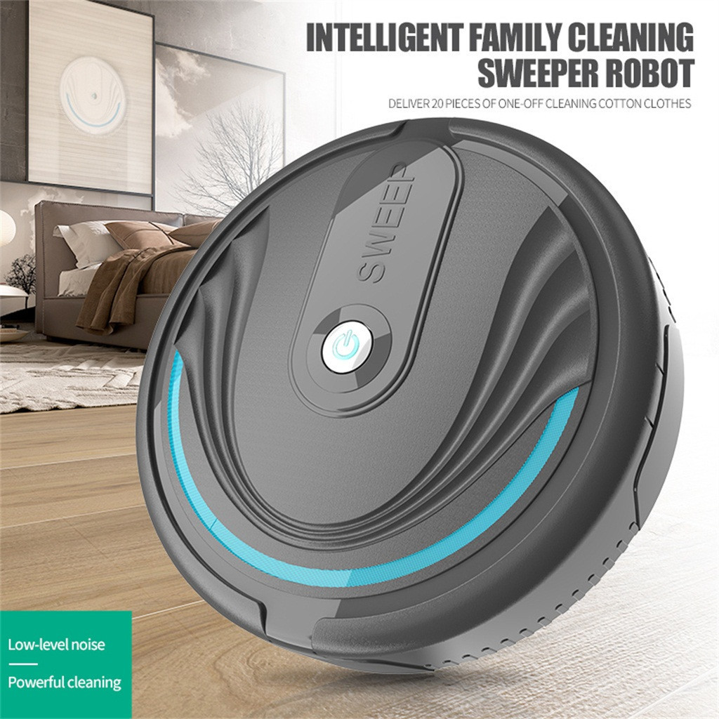 Hand Push Sweepers Clean Sweeping Robot Vacuum Cleaners Automatic Mini Cleaner Broom Household Dust Hair Household Cleaning Tool
